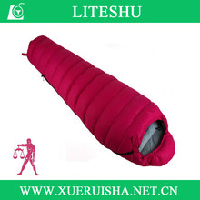 Cold Weather Type and Duck Down Filling sleeping bags low price high quality