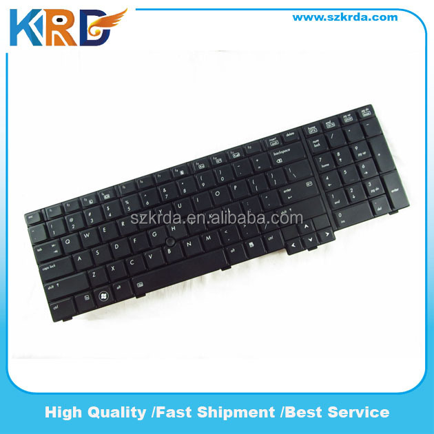 Wholesale Notebook keybord for HP EliteBook 8740W 8740P laptop keyboard Backlit US