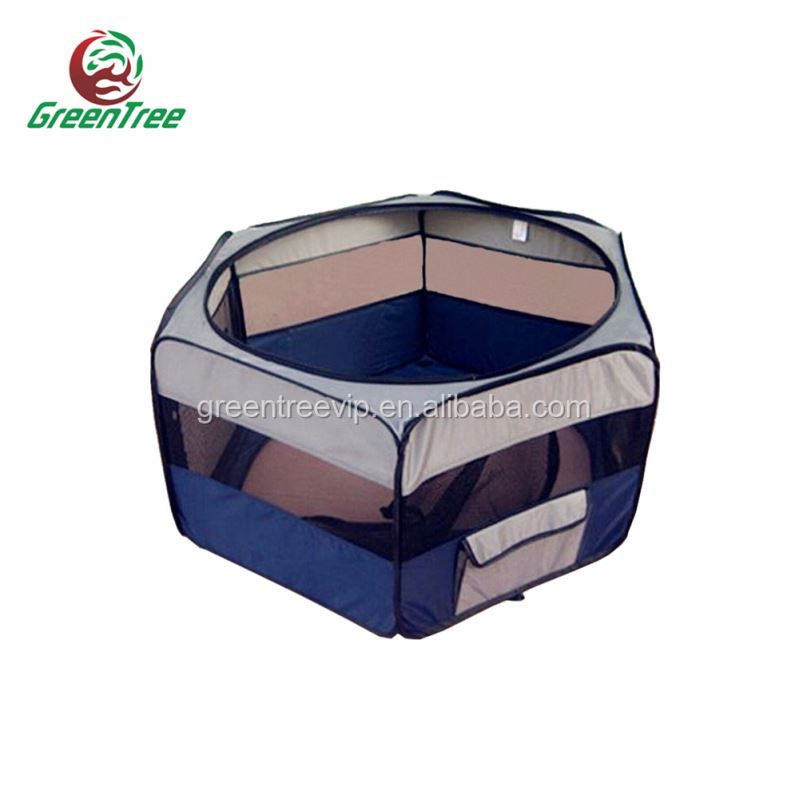 Portable Large Steel Bar Dog Cat Cage