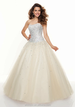 Sophisticated Beaded Cross Straps Sweetheart Ball Gown Express Delivery Prom Dresses