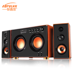 High quality ktv/indoor/party/entertainment big power double 5.5 inch subwoofer all-wood speakers