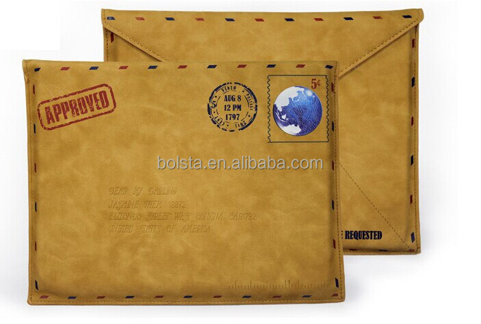 leather protective envelop case cover for ipad 2 3 4