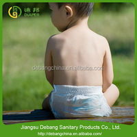 Fashion design rubber diaper baby panty diaper