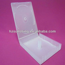 Square plastic cd/vcd/dvd display case for wholesale