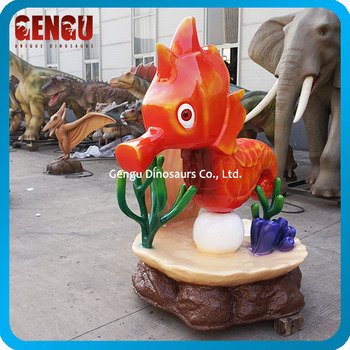 Fiberglass Life Size Cartoon Animal Statue