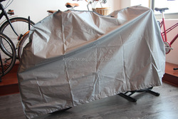 silver bike rain cover China cover factory cheap price