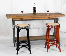RCH-4005 Hot Sale Wooden 24 Inches Cross Bar Stool