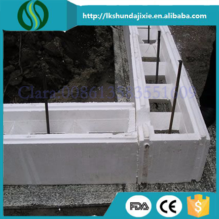 New Buiding Material EPS Foam Construction Blocks ICF Making Machine