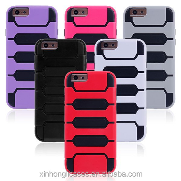 Wholesale Heavy Duty Hybrid Cell Phone Cover Case For iPhone 6