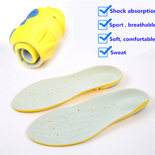 Full Length Soft Comfortable Breathable Sports Gel Insoles and shoe inserts for Walking Hiking Fasciitis