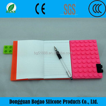 2015 Hot Sell Block Book Cover Silicone Paper Notebook