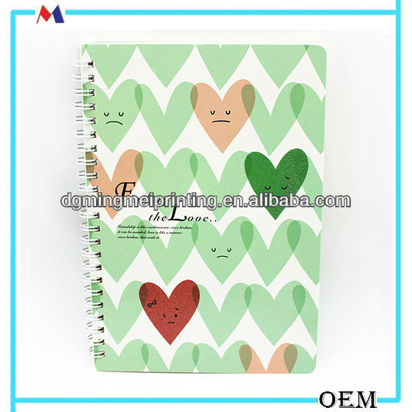 Eco-friendly recycled paper notebook