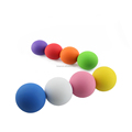 Best quality Natural Rubber lacrosse ball with custom logo