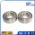 Stainless steel deep groove roller ball S6205ZZ bearing with 25*52*15mm