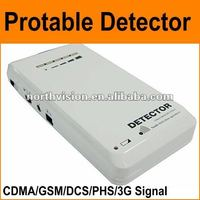 Newest wireless portable mobile phone signal detector with earphone