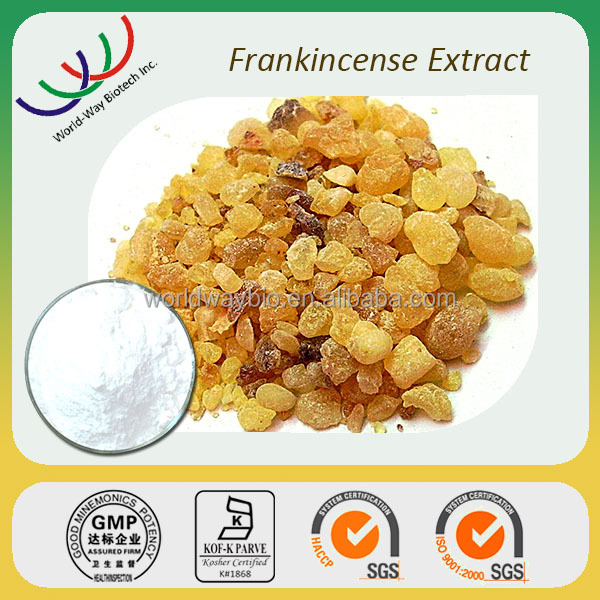 Free sample for trial HACCP FDA natural 65% boswellic acid boswellia serrata frankincense extract