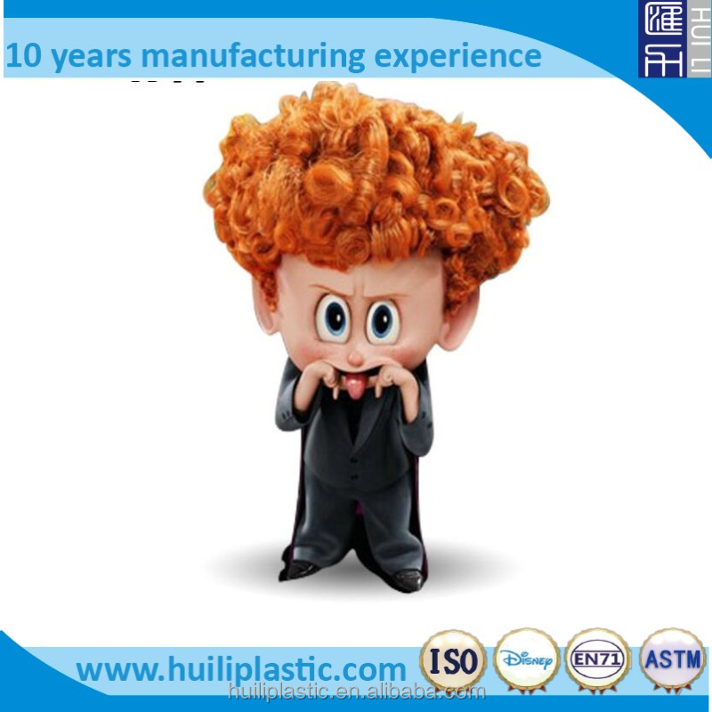 Custom vinyl toy OEM, cheap custom made pvc small vinyl toy, Custom plastic rotocasting Vinyl Toy