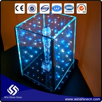 Led Heat Resistant Laminated Glass For Elevator guardrail