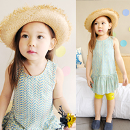 children clothes korea brand CHICHIKAKA Children's Clothing Dresses