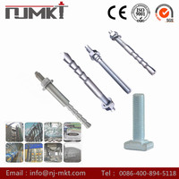 NJMKT hex head bolt epoxy resin AB Component adhesive Chemical Anchor Bolt
