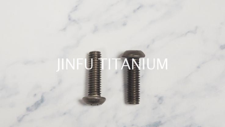 Titanium button head screw m8 titanium button head screw titanium botton head screw