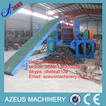 CE tyre recycle machine used tire shredding equipment
