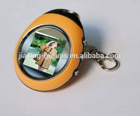 HOT SELL faction digital photo frame keychain,available in various color,Oem orders are welcome