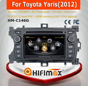 Hifimax car mp3 player with bluetooth toyota yaris car radio for toyota yaris with usb bluetooth car radio for toyota yaris