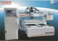 ATC Woodworking Center/ 8 Knifes/ Table Moving/3 Axes Dust Cover/ Syntec control system/ Working area 1300x2500 mm