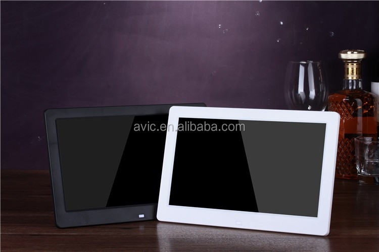 10.1 inch wifi digital photo frame android 10-point Capacitive Touch Screen monitor LCD con entrada HD MI composite input