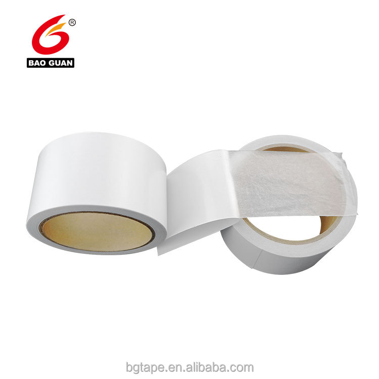 roll Double side adhesive film PET tape with strong adhesion