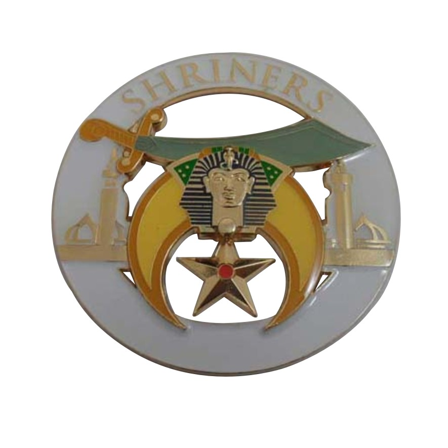 Wholesale Custom SHRINER Metal Logo Emblem Car Emblem