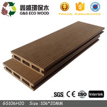Redwood terrace WPC Flooring vinyl floor covering outdoor wpc decking floor