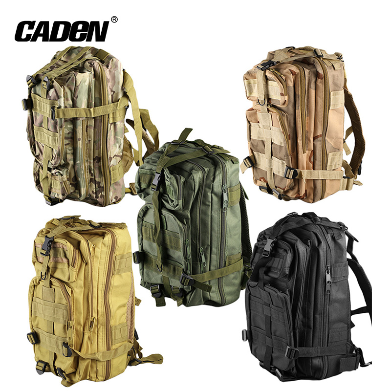 Leisure Outdoor Adventure Travel Camping Waterproof Army Hiking Military Backpack Bags