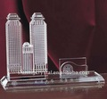 Fashional crystal building model for promotion gift