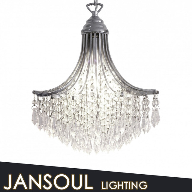 Classic design crystal chain hanging pendant contemporary chandelie lighitng