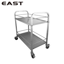 Top Quality Stainless Steel Food Trolley/Steel Liquor Cart Wine And Liquor