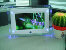 "Fancy LED 7"" Digital Photo Frame/Electronic Picture Display/MP3 Video Monitor"