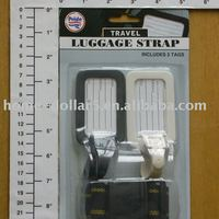 Luggage Strap W 2pc Tag Set