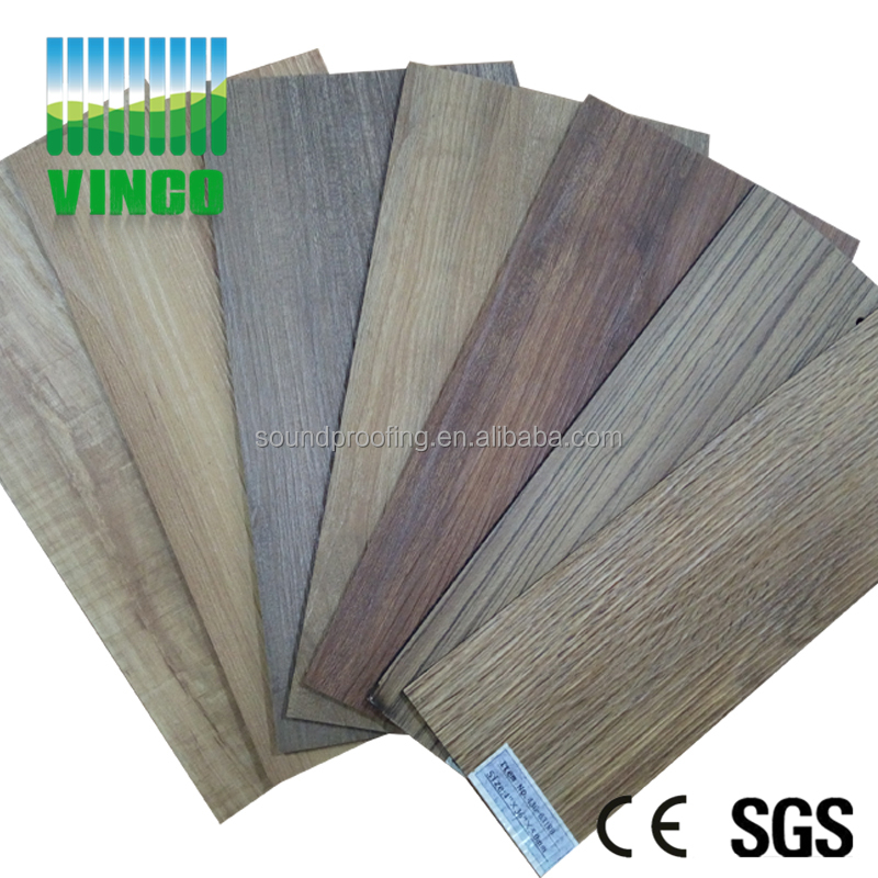Sound proof hardwood flooring Wood rubber mat pvc flooring price in india