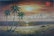 High quality sea view natural beauty landscape oil painting