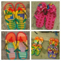 BONWIRE KENTE SLIPPER