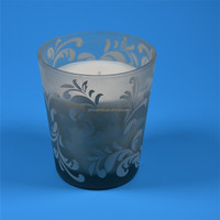Professional Custom Printed Glass Soy Wax