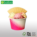 Disposable ice cream paper cup ice cream paper bowl