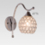 Modern wall lamps bathroom light fixture with etched opal glass