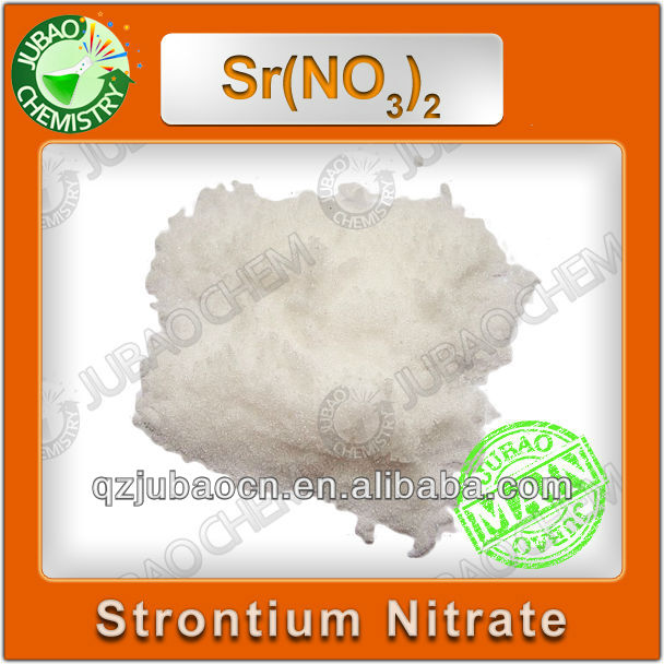 99.5% min Strontium Nitrate Chemical Formula Fireworks
