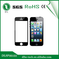 2014 Newest 0.4mm tempered glass screen guard for iphone 5 color skin sticker
