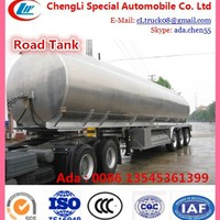 45000 Liters Milk Tanker Semi Trailer