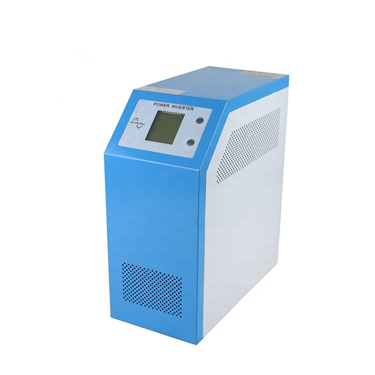 Output frequency 50hz/60hz display lcd hybrid solar inverter
