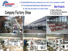 Computer control double-layer rolling flat bag,vest bag,shopping bag and garbage bag making machine